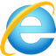 Logo du navigateur Microsoft Internet Explorer 9