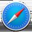 Logo du navigateur Apple Safari